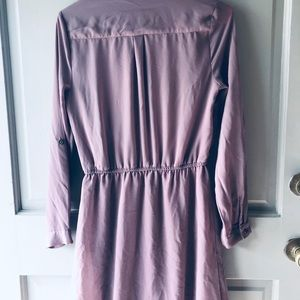 Charlotte Russe Dresses - CHARLOTTE RUSSE Long Sleeve Collard Dress